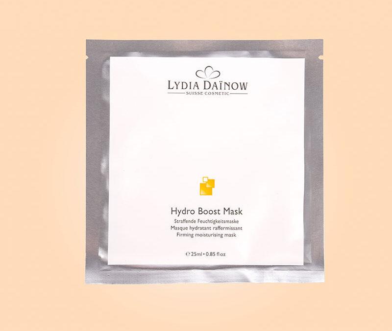 Neu: Hydro Boost Mask – straffende Vliesmaske